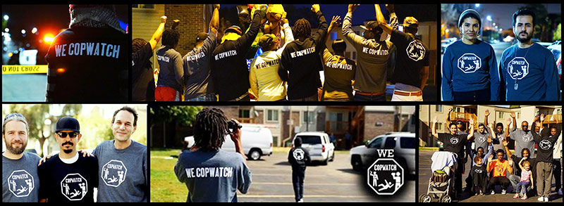Copwatch collage